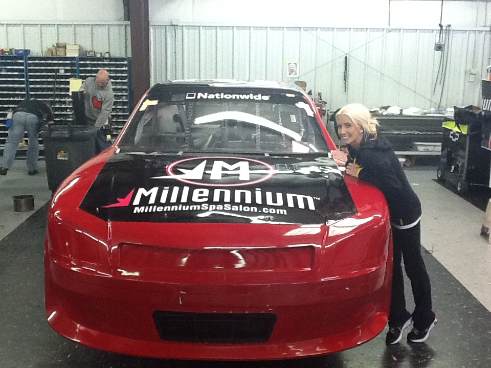 Millennium Salon Software Sponsors Female NASCAR Drivers In Support