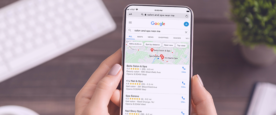 Online Search Trends for Salons and Spas