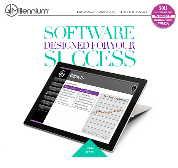 Spa Software Designed for Your Success