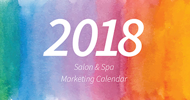 Salon & Spa Marketing Calendar