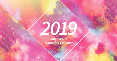 2019 Salon and Spa Marketing Calendar