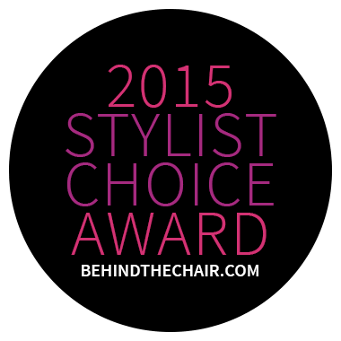 Behind The Chair Stylist Choice Award