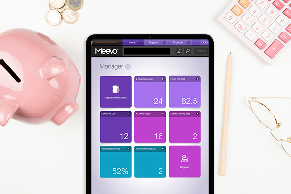 Meevo 2 for Single Locations Goals Dashboard