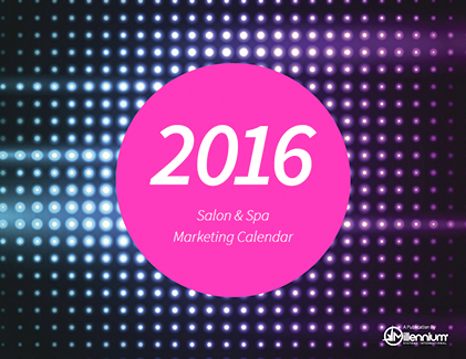 Salon and Spa Marketing Calendar 2016 Featured Image