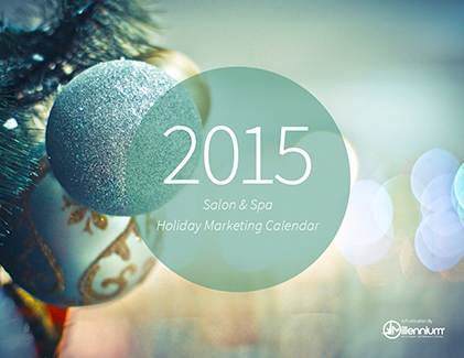 Salon and Spa Holiday Marketing Calendar 2015 Featured Image