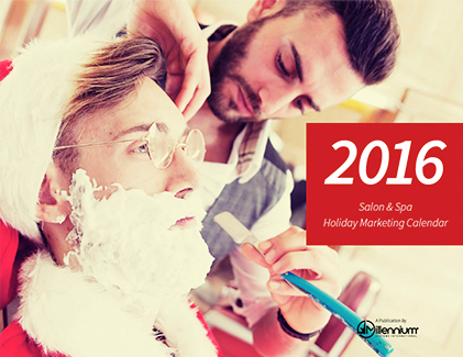 Salon and Spa Holiday Marketing Calendar 2016 Featured Image