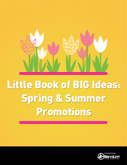 Little Book of BIG Ideas: Spring & Summer Promotions Featured Image