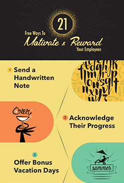 21 Free Ways to Motivate and Reward Employees Featured Image
