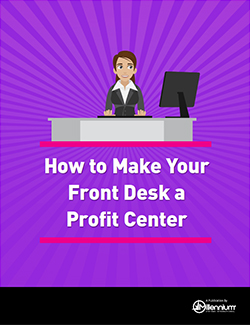 How to Make Your Front Desk a Profit Center Featured Image