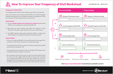 How To Improve Your Frequency of Visit Worksheet Featured Image