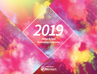 2019 Salon and Spa Marketing Calendar Featured Image