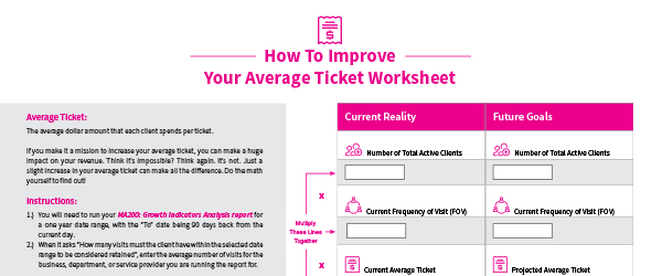 Related thumb: How To Improve Your Average Ticket Worksheet