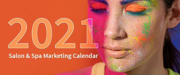 2021 Salon & Spa Marketing Calendar